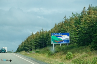 The beginning of the 6 hour drive thru the Cabot trail.