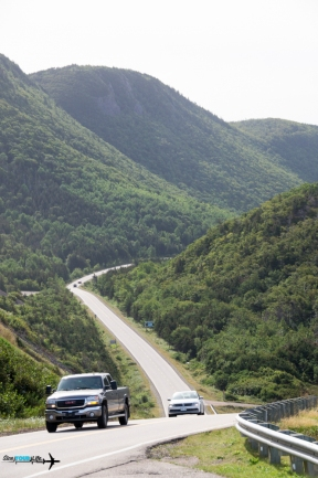 One of the look-outs on The Cabot Trail