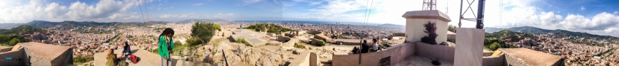 Travel - Spain Barcelona-Panorama (highest point)