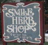 smile herb shop logo